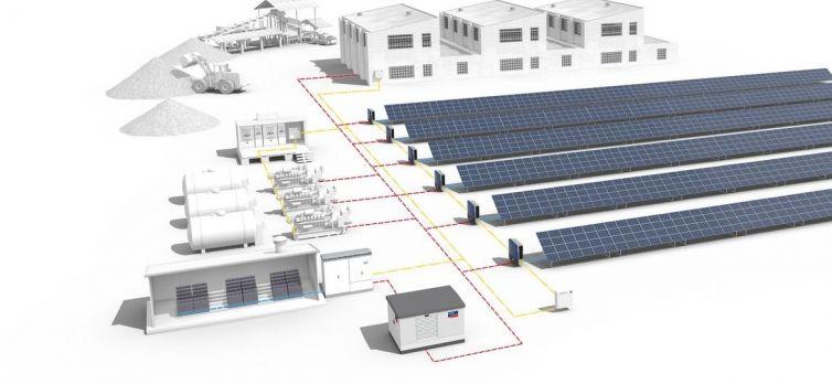 Diesel Generator-Solar Integration in Hyderabad - Four Solar