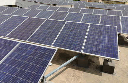 Rbvrr Women's College - Grid Tied Rooftop Solar Power System