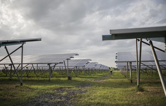 Rooftop Solar System - Naandi Gated Community