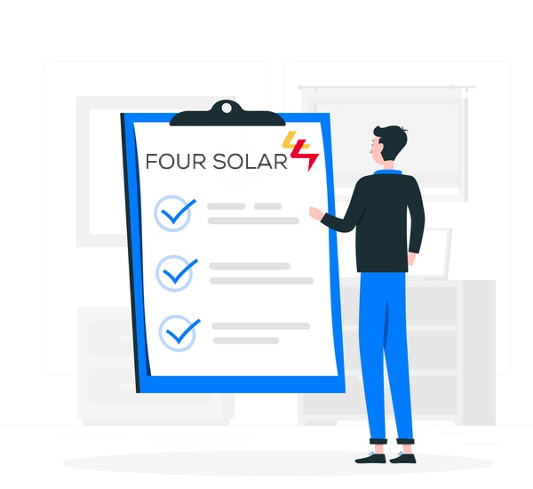 Gated Community Solar Panel In Hyderabad | Four Solar